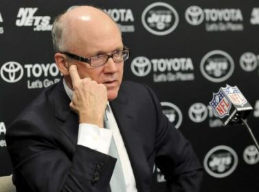 Jets owner Woody Johnson seems to be losing patience.
